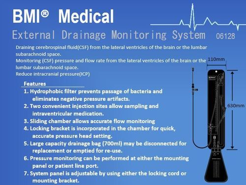 External Drainage Monitoring System