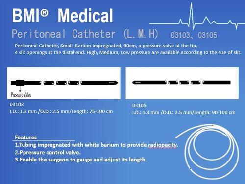 Peritoneal Catheter (L.M.H) 03103