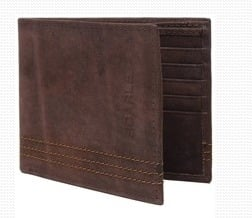 Bifold Mens Leather Wallets