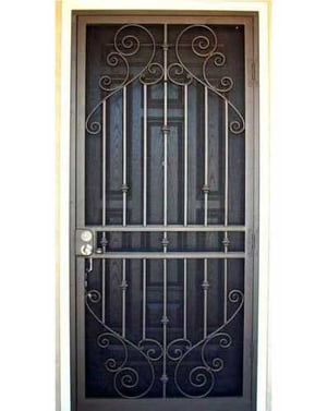 Front Iron Security Gate