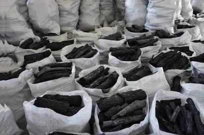High Combustion Efficiency Wood Charcoal