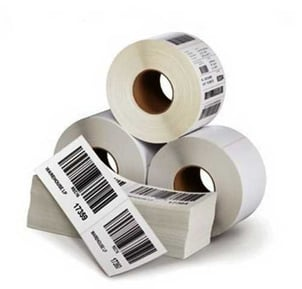 Printed Paper Barcode Sticker