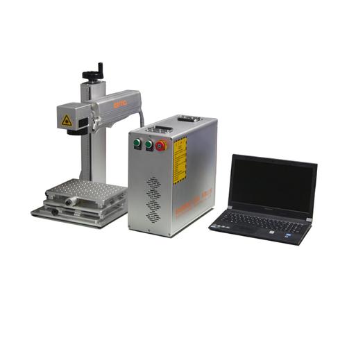 Split Type Mini Portable Laser Engraving Machine 20w 30w 50w Fiber Laser