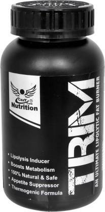 100% Natural Trim Fat Burner Supplement