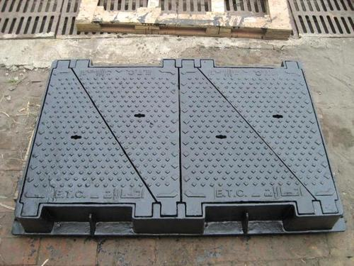 Ductile Iron Carriageway Jrc12 Manhole Cover And Frame