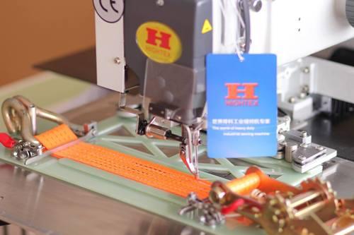 High Speed Heavy Automatic Lashing Belts Sewing Machine