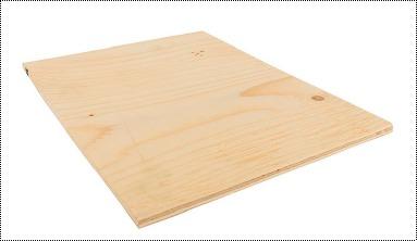 Light Brown Fire Retardant Plywood
