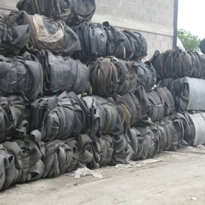 Used Tyres Shredded Bales