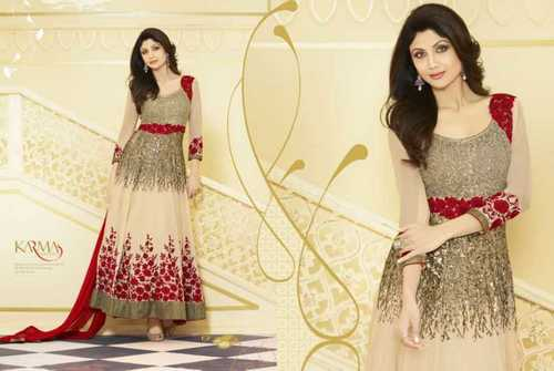 3/4th Sleeves Salwar Suits
