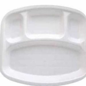 Four Compartment Thermocol plate