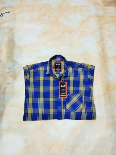 Men Full Sleeve Check Shirt
