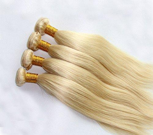 Blonde Human Straight Hair