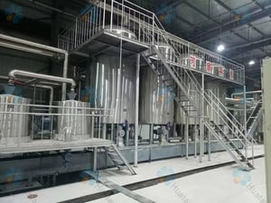 Grape Seed Oil Cold Solvent Extraction System