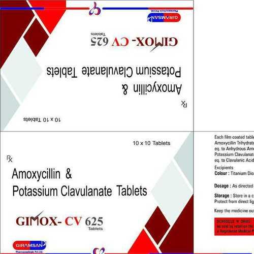 GIMOX CV 625 Tablet
