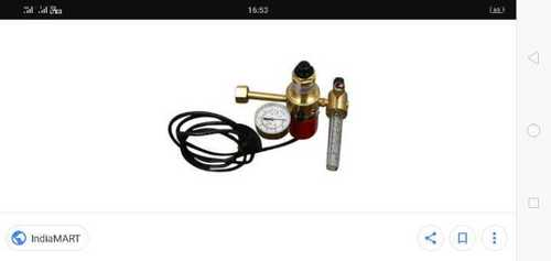 Messer Co2 Regulator With Flow Metre With Heater