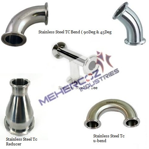 Stainless Steel Triclover Clamp Fitting