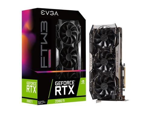 EVGA GeForce Ultra Gaming Graphics Card (RTX 2080 Ti FTW3)