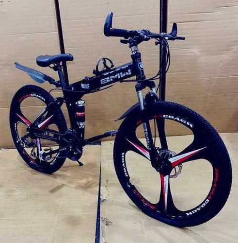 Bmw Mountain Bicycle With 21 Shimano Gears Gender: Male