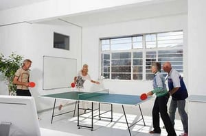 Table Tennis Table For Indoor And Outdoor