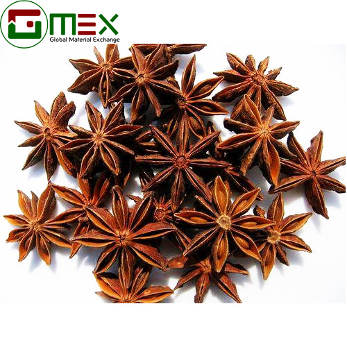 Brown Color Star Anise