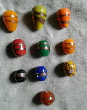 Fancy Glass Colorful Beads