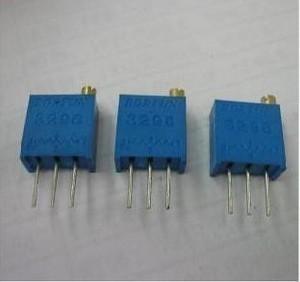 Trimmer Resistor 3296w-1-503lf Bourns Res Cermet Trimmer