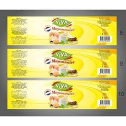 Yellow Color Label Stickers