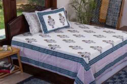 Double Bed Printed Sheet
