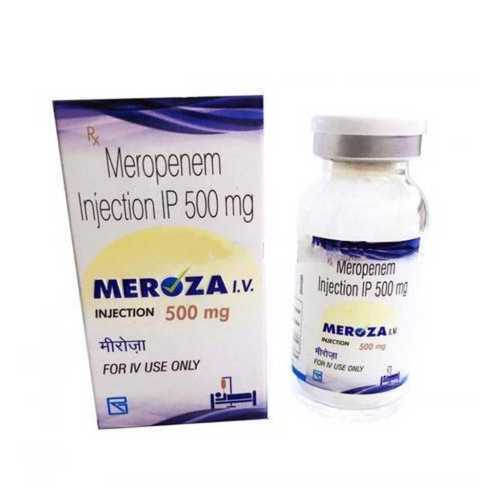 Meropenem Injection IP 500 mg