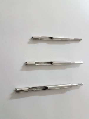 Hollow Reamer for Removal of Damage Screws Orthopedic Instrument