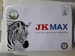 White Jk Max A4 Paper 70Gsm