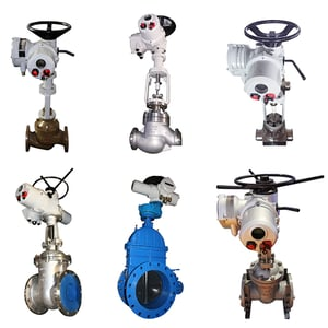 Rotork 4-20MA Flow Control Motor Operated Valve