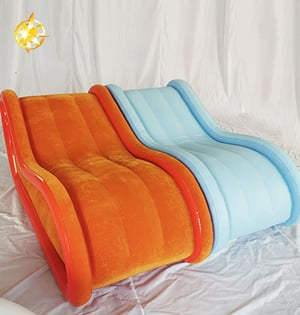 Soft Smooth Inflatable Chair