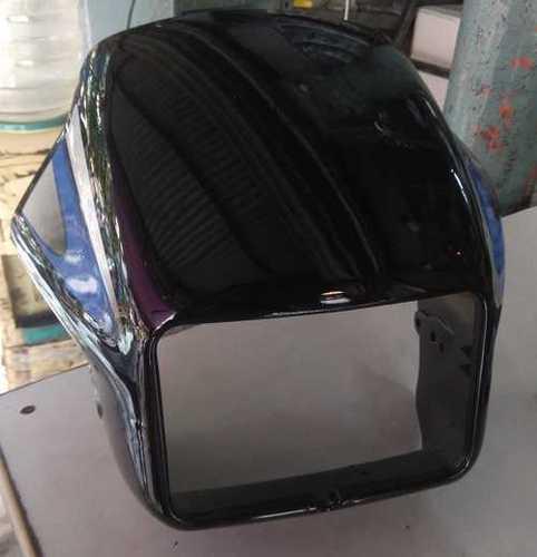 Square Bike Black Visor
