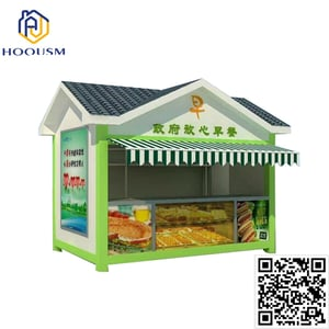 Coffee Store Kiosk Mobile Container