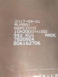 Abrasion Resistant 400 Steel Plate