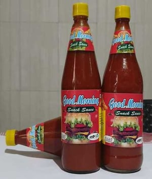Red Color Tomato Sauce