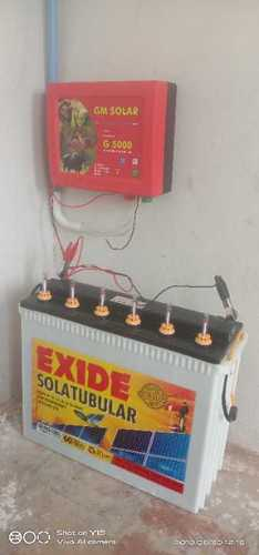 Solar Electric Fencing Energizer Machine