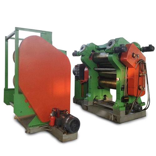 4 Rolls Rubber Calendering Machine