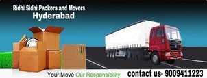 Ridhi Sidhi Packers and Movers Services