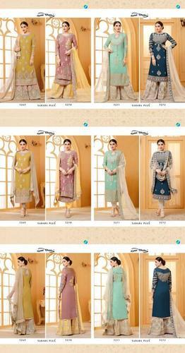 Designer Sharara Salwar Suits