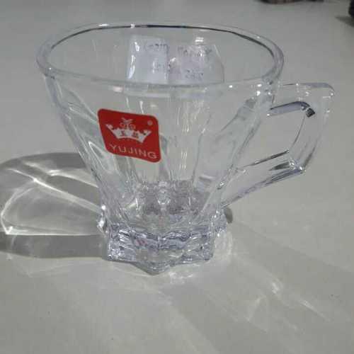 Transparent Glass Tea Cup