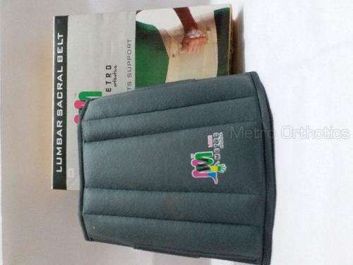 Black Color Lumbar Sacral Support