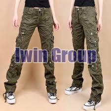 Any Cotton Ladies Cargo Pants