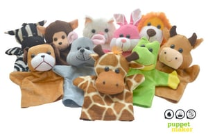 Easy To Use Animal Hand Puppets