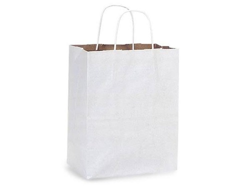 White Paper Carry Bags