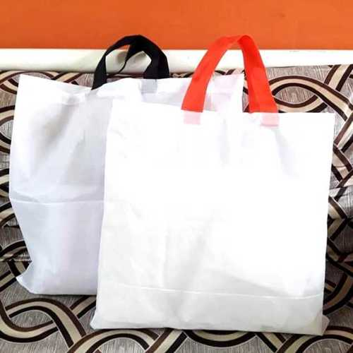 White Eco Friendly Cotton Carry Bags