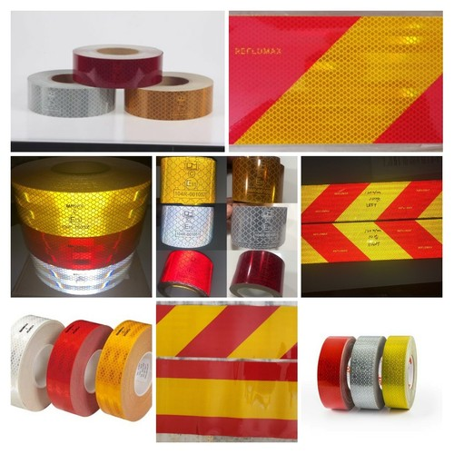 Retro Reflective Conspicuity Tapes Certifications: Ais Government Of India Authorised Test Agencies Iso Arai / Icat