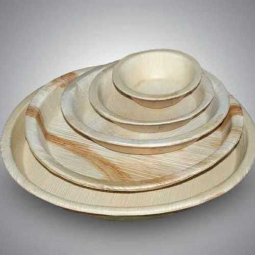 Natural Round Areca Leaf Plate