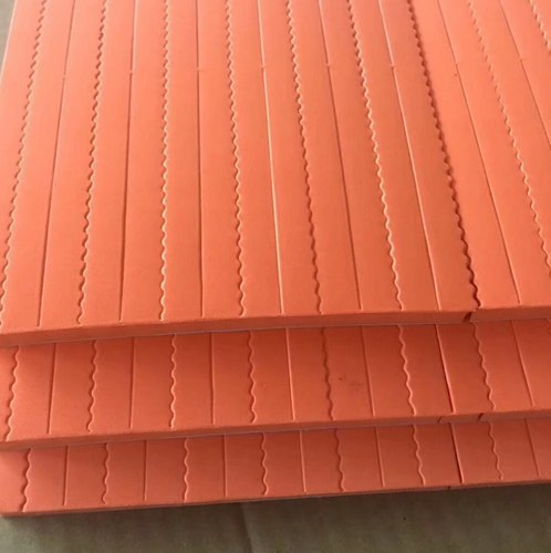 Red Die Ejection Rubbers Sheet